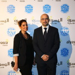 Dietitian Sami Al Bader and his wife